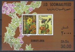 Somalia  Yv BF 19, Euroflora 1986  ** Mnh - Somalie (1960-...)