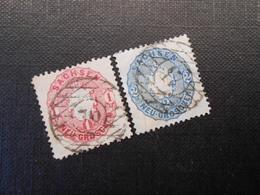 Mi 16b/17a  1Ngr/2Ngr  Altdeutschland (Sachsen) - 1863 - Mi 18,00 € - Vollrandig - Saxony