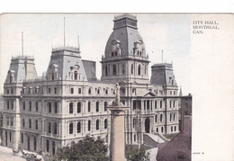 """MONTREAL  """" CITY HALL  Nr 4088S""""  +/-1910   Voir Scans - Montreal"""