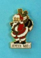 1 PIN'S //   ** JOYEUX NOËL / PÈRE NOËL ET SES CADEAUX ** - Noël
