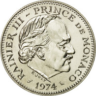 Monnaie, Monaco, Rainier III, 5 Francs, 1974, FDC, Copper-nickel, Gadoury:153 - Monaco