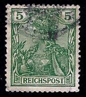 Germany 1900, Scott 54, Reichs Post, 5Pf Germania Series, Used, NH - Germany