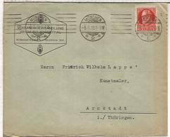 ALEMANIA MUNCHEN CC 1918 - Cartas