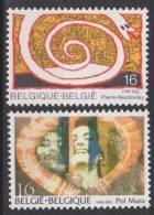 Belgique N° 2602 - 2603 ** Série Artistique - P. Alechinsky & P. Mara - 1995 - Unused Stamps