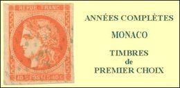 Monaco, Année Complète 2017, N° 3062 à N° 3116** Y Et T - Monaco