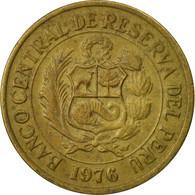 Monnaie, Pérou, Sol, 1976, Lima, TTB, Laiton, KM:266.1 - Pérou