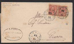 ITALY ITALIA 1908. Historical Documents Envelope Use By The Municipality Of LINGUAGLOSSA GIARRE - Documentos Históricos