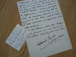 Antoinette REVILLE (1895-19..) Cantatrice SOPRANO. Opera Comique. Artiste Lyrique. AUTOGRAPHE - Autographes