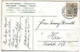 ALEMANIA STUTTGART 1908 TP - Cartas