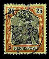 Germany 1900, Scott 57, Reichs Post,25Pf Germania Series, Used, NH - Germany