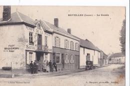 Carte 1910 REVELLES / LE CENTRE (café De La Place) - Francia