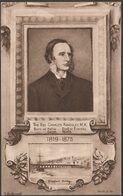 The Rev Charles Kingsley MA, C.1910s - Worth & Co Postcard - Writers