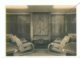 Photo Paquebot Baudouinville Le Foyer Du Bar Fumeur Archive CMB - Boten