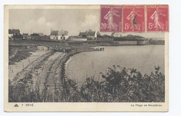 56--SENE ---PLAGE DE MOUSTERIAN  --RECTO/VERSO- B43 - France