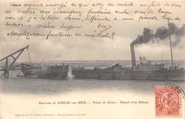33-POINTE-DE-GRAVE- ENVIRONS DE SOULAC-SUR-MER-  DEPART D'UN BATEAU - France
