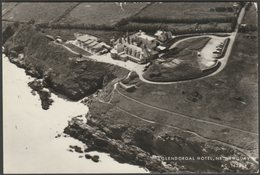 Glendorgal Hotel, Newquay, Cornwall, 1972 - Aerofilms RP Postcard - Newquay