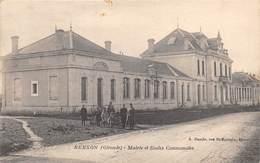 33-BERSON- MAIRIE ET ECOLE COMMUNALE - France