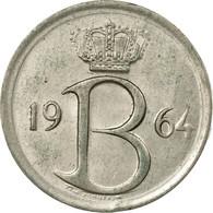 Monnaie, Belgique, 25 Centimes, 1964, Bruxelles, TB+, Copper-nickel, KM:153.2 - 02. 25 Centimes