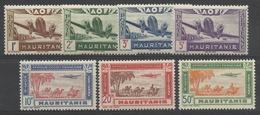 MAURITANIE 1942 YT PA 11/17** MNH - Mauritanie (1906-1944)