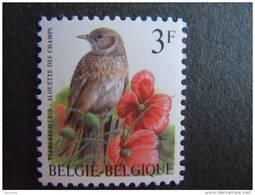 België Belgique Belgium 1997 Vogels Oiseaux Buzin Veldleeuwerik Alouette Des Champs 2705 MNH ** - 1985-.. Vögel (Buzin)