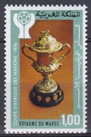 Marokko Morocco 1976 Fußball Football Soccer Afrikameisterschaft Pokale Cups, Mi. 858 ** - Marokko (1956-...)