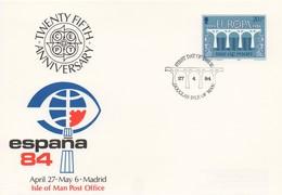 EU203  FDC 1984 EUROPA  Isle Of Man   TTB - Europa-CEPT