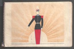 78 - Ecole De Saint-Cyr - Illustration Saint Cyrien 21 Janvier 1936 Carte De Vœux à L'occasion De La Ste Agnès. - Altri