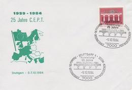 EU206   1984 EUROPA  Allemagne  TTB - Europa-CEPT