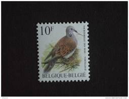 België Belgique Belgium 1998 Vogels Oiseaux Buzin Tortelduif Tourterelle Des Bois 2783 MNH ** - 1985-.. Vögel (Buzin)