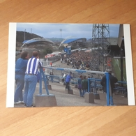 Huddersfield Old + New 1416 Cartolina Stadio Stadium Postcard Stadion CP Stade Estadio  (The Homes Of Football) - Football