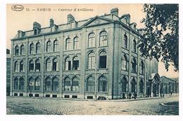 CPA : NAMUR - Caserne D' Artillerie - En été (arbre) - Namur