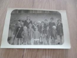 Carte Photo 14 Calvados Langrune 1918 Plage Personne Nommée Au Dos - Otros Municipios