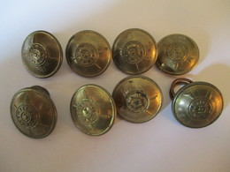 Ethiopia Haile Selassie's Time : Infantry Jacket's Button - Buttons