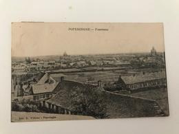Carte Postale Ancienne (1911) POPERINGHE - Panorama - Poperinge
