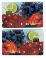 Kazakhstan. Plastic Card With A Chip.Phonecards. - Food