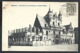+++ CPA - MALINES  MECHELEN - Les Halles Et Les Ruines - Grand'Place  // - Mechelen