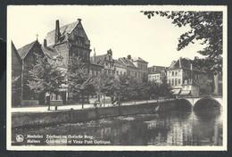 +++ CPA - MALINES  MECHELEN - Quai Du Sel Et Vieux Pont Gothique - Nels   // - Mechelen
