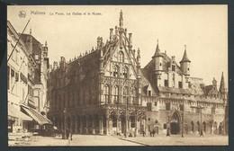 +++ CPA - MALINES  MECHELEN - Poste , Halles Et Musée - Nels    // - Mechelen