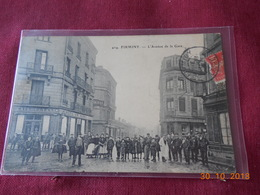 CPA - Firminy - L'Avenue De La Gare - Firminy