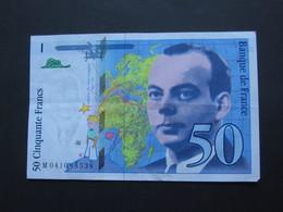 50 Francs - Cinquante Francs Saint Exupéry 1997    **** EN ACHAT IMMEDIAT ***** - 1992-2000 Ultima Gama