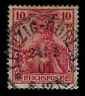Germany 1900, Scott 55, Reichs Post,10Pf Germania Series, Used, H - Germany