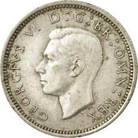Monnaie, Grande-Bretagne, George VI, 6 Pence, 1937, TB+, Argent, KM:852 - 1902-1971 : Monnaies Post-Victoriennes