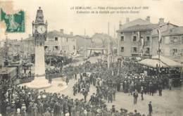 69 - LYON TASSIN LA DEMI-LUNE - Fetes D'inauguration Du 5 Avril 1908 - Execution De La Cantate Par La Chorale - Lyon