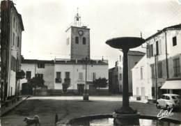 66 - MAUREILLAS - Place Publique - Cpsm 10x15 - Autres Communes