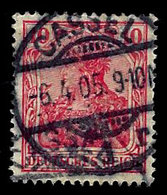 Germany 1902, Scott, 68,Deutsches Reich, 10pf. Cassel Cancel, Used,LH - Germany