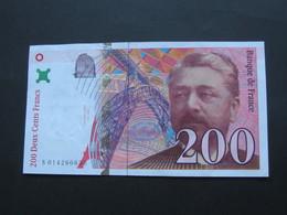 200 Francs - EIFFEL - 1996  **** EN ACHAT IMMEDIAT ***** - 1992-2000 Ultima Gama