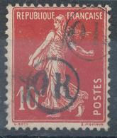 N°135 OBLITERATION 2 O.R. - 1903-60 Semeuse Lignée
