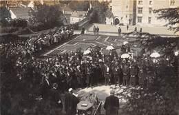 37-LANGEAIS- CARTE-PHOTO- FÊTES AGRICOLE 1910- - Langeais