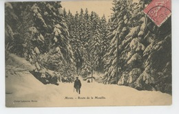 MOREZ - Route De La Mouille - Morez