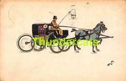 CPA ILLUSTRATEUR W DE MAY ATTEALGE A CHEVAL DE CHEVAUX ARTIST SIGNED HORSE CARRIAGE HORSES - Altri
